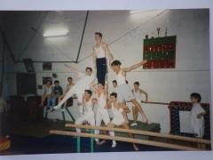 Equipe de gym masculine dans nos locaux
